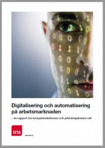 Digitalisering och automatisering på arbetsmarknaden