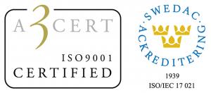 A3 Swedac, logo